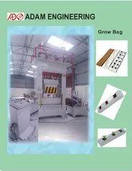 Semi Automatic Coco Pith Grow Bag Making Machine