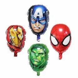 Marvel Avenger Character Foil Balloon Set Of 4 Pcs