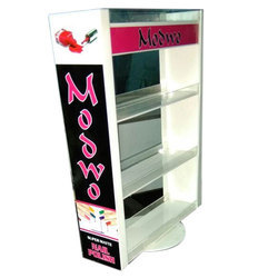 4 Shelves Acrylic Nail Paint Stand