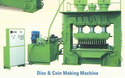 Disc And Coin Making Machine