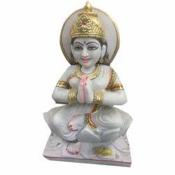 Parvati Religious Marble Statue