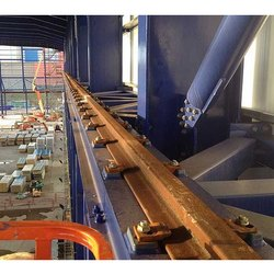 Iron Crane Rails, For Railway Siding, Size/Dimension: 12-24 Meters (length)