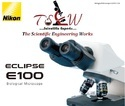 Nikon Eclipse E100 Biological Microscope