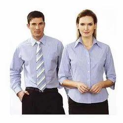 Regular Fit Shirt And Trouser Office Staff Uniform