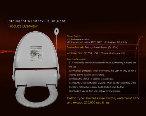 Safe Hygienic Toilet Seat Cover
