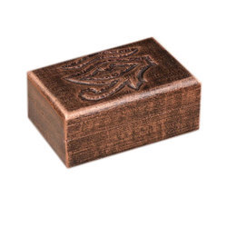 Wood Rectangular Exclusive Hand Carved Decorative En Jewellery Box