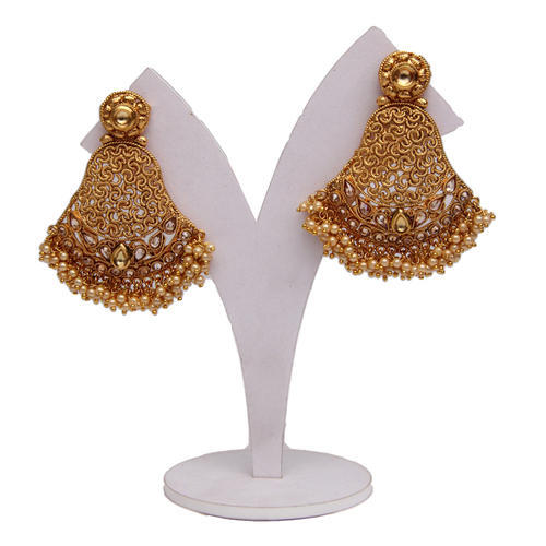 golden classy earrings l products earring