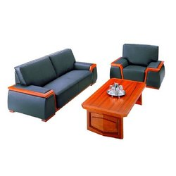 Modern 5 Seater Wooden Designer Sofa Table Set for Home