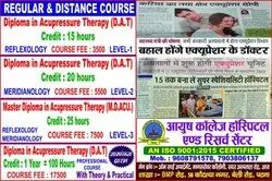 Full Time 1 Year Diploma in acupressure course