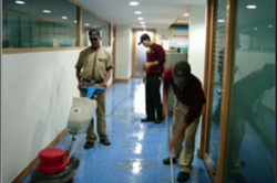 Hospital Floor Cleaning Service