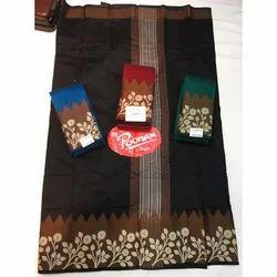 Cotton Printed Handloom Saree