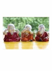 Rawsome Shack Baby Monk Statue Set