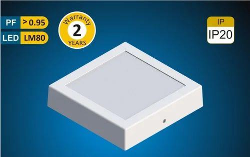 Crescent Aluminium Surface Light Sigma