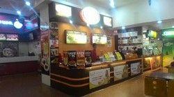 Wood kiosk