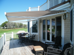 Tunnel Retractable Awning