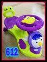 Green And Purple Kids Magic Car, For School/play School