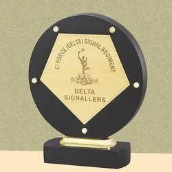 PI18-314 Round Wooden Trophy