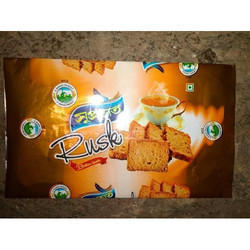 Rusk Packaging Printed Plastic Pouch