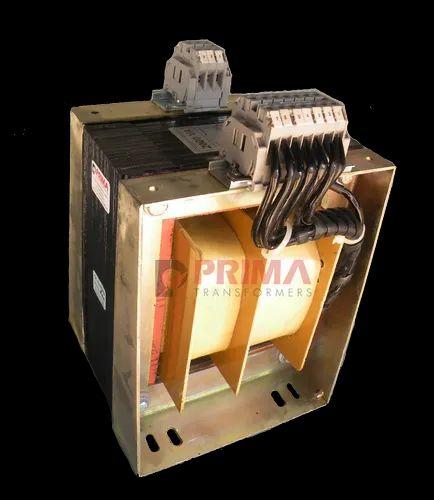 50va To 25 Kva PRIMA 1 Phase Control Transformer 2000VA, Upto 750 V, for Industrial