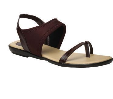 a4f44e17658f Casual Leather Bata Brown Sandals For Women F561490300
