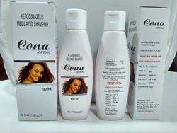 Cona Ketoconazole Shampoo, Packaging Size: 100 Ml, Packaging Type: Plastic Bottle