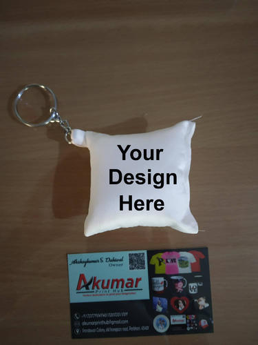 Customized Cushion Keychain At Rs 199 Piece Customized Key Chain