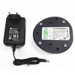 Black Motorola GP 328 Charger Tray, Output Voltage: 12 Volts