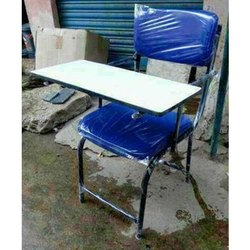 Blue MS (Frame) Training Writing Pad Chair