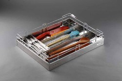 21X20X4 Inch Cutlery Perforated Basket