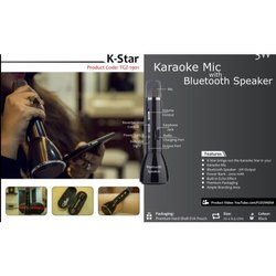 Karaoke Mic with Bluetooth Speaker