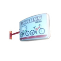 Blue Led Glow Sign Board Lit Display Locator, For Promotion