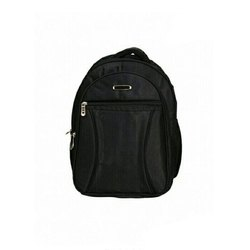 Cotton Fabric School Backpack Bag, Capacity: Up To 5 Kg