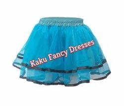 Kids Firozi Tutu Skirt