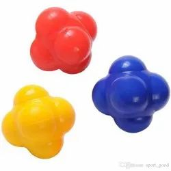Crew For Sports Assorted Soft Rubber Reaction Balls 70mm