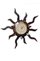 Wooden Brown Color Analog Wall Clock