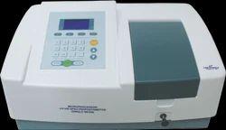Single Beam UV-VIS Spectrophotometer