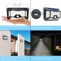 66 LED Solar Motion Sensor Light