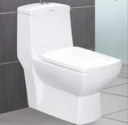 Cera Floor Mounting EWC Toilet Seats, For Home, Office Bathroom