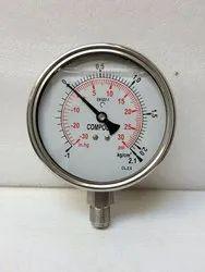 SS Compound Pressure Gauge