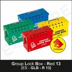Group Lock Box Different Color