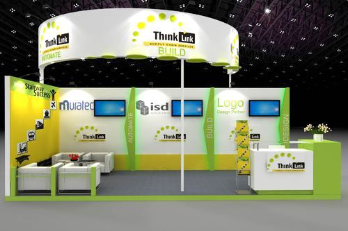 Exhibition Stall Rates : Exhibition stall fabrication and designing service