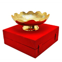 Silver and Gold Plated Bowl