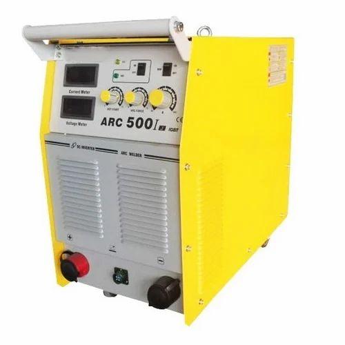 Three Phase Semi-Automatic ARC 500 Welding Machine