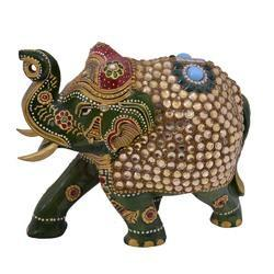 Decorative Wooden Elephant