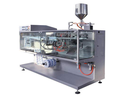 Automatic Horizontal Packaging Machine, Model: VT-HFFS-100