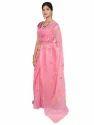 Pink Bridal Wear Saree