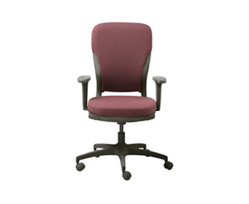 Grey Red Godrej Motion High Back Chair Godrej Interio