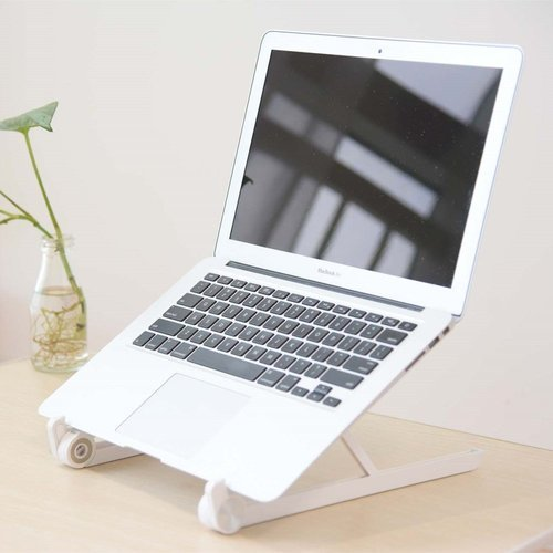 Adjustable Foldable Laptop Notebook Desk Table Stand Tray Portable Black Fancy Colours Computer & Office