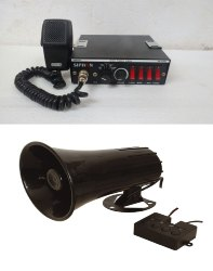2 Ton Siren Amplifier For Vehicle( for announcement or  recording play)