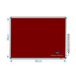 Spbm4560 Maroon Notice Board